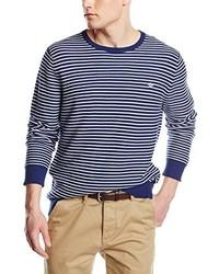 Jersey con cuello circular azul de Dockers