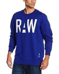 Jersey con cuello circular azul de G-Star RAW