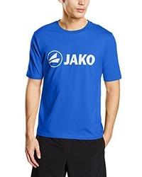 Jersey con cuello circular azul de Jako