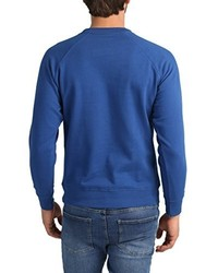 Jersey con cuello circular azul de Lower East