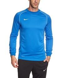 Jersey con cuello circular azul de Nike