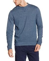 Jersey con cuello circular azul de Tom Tailor