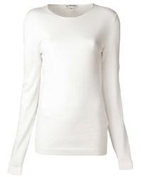 Jersey con cuello circular blanco original 1328073
