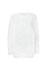 Jersey con cuello circular blanco de IRO
