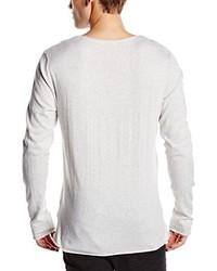 Jersey con cuello circular blanco de Selected