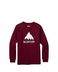 Jersey con cuello circular burdeos de Burton
