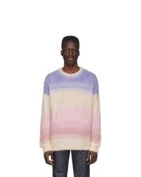 Jersey con cuello circular de rayas horizontales en multicolor de Isabel Marant