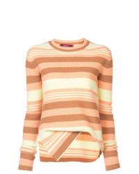 Jersey con cuello circular de rayas horizontales en multicolor de Sies Marjan