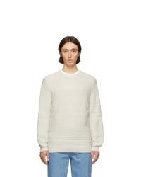 Jersey con cuello circular en beige de A.P.C.