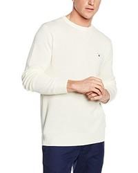 Jersey con cuello circular en beige de Gant