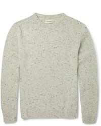 Jersey con cuello circular en beige de Oliver Spencer