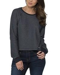 Jersey con cuello circular en gris oscuro de Bench