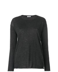 Jersey con cuello circular en gris oscuro de P.A.R.O.S.H.