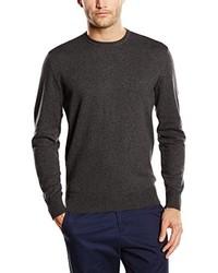 Jersey con cuello circular en gris oscuro de Wrangler