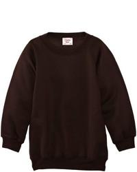 Jersey con cuello circular en marrón oscuro de Charles Kirk Coolflow