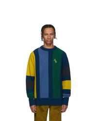 Jersey con cuello circular en multicolor de Aimé Leon Dore