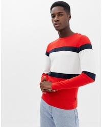 Jersey con cuello circular en multicolor de Jack & Jones