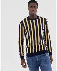 Jersey con cuello circular en multicolor de Jack & Jones
