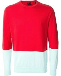 Jersey con cuello circular en multicolor de Paul Smith