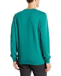 Jersey con cuello circular en verde azulado de Jack & Jones