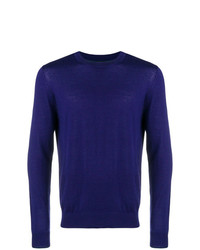 Jersey con cuello circular en violeta de Ps By Paul Smith
