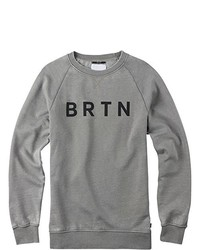 Jersey con cuello circular gris de Burton