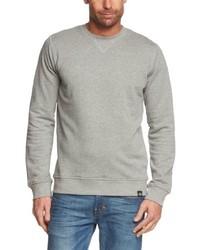 Jersey con cuello circular gris de Dickies