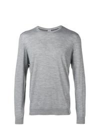 Jersey con cuello circular gris de Eleventy