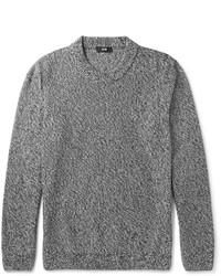 Jersey con cuello circular gris de Hugo Boss