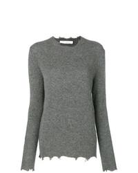 Jersey con cuello circular gris de IRO