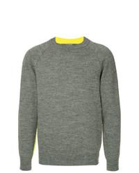 Jersey con cuello circular gris de Junya Watanabe MAN