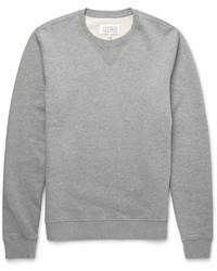 Jersey con cuello circular gris de Maison Margiela