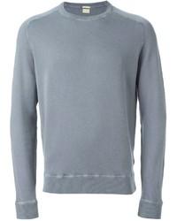 Jersey con cuello circular gris de Massimo Alba
