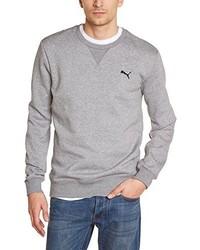 Jersey con cuello circular gris de Puma