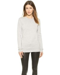 Jersey con cuello circular gris de Rag and Bone
