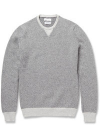 Jersey con cuello circular gris de Richard James