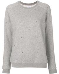 Jersey con cuello circular gris de Zoe Karssen