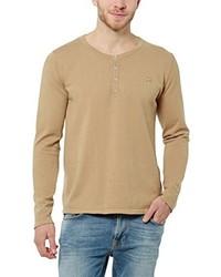 Jersey con cuello circular marrón claro de JAMVF