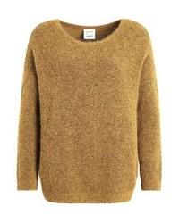 Jersey con cuello circular marrón claro de Karen by Simonsen