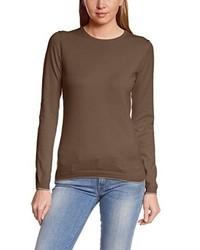 Jersey con cuello circular marrón de C.P.M.