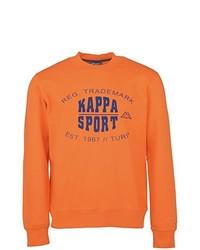 Jersey con cuello circular naranja de Kappa