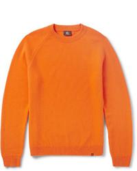 Jersey con cuello circular naranja de Paul Smith