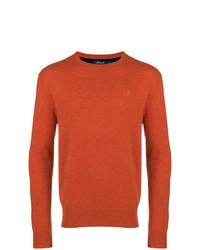 Jersey con cuello circular naranja de Polo Ralph Lauren