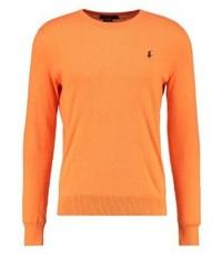 Jersey con cuello circular naranja de Ralph Lauren
