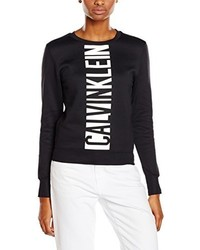 Jersey con cuello circular negro de Calvin Klein Jeans