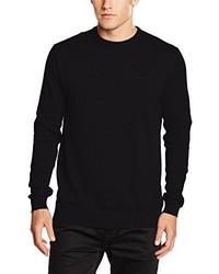 Jersey con cuello circular negro de Esprit