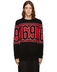 Jersey con cuello circular negro de Hood by Air