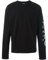 Jersey con cuello circular negro de Kenzo