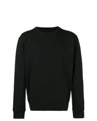 Jersey con cuello circular negro de Maison Margiela