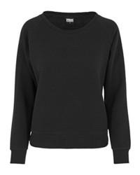 Jersey con cuello circular negro de Urban Classics